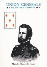 Civil War Union Generals Poker Deck Game - $6.99