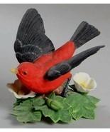1992 SCARLET TANAGER~Lenox Garden Bird Collection~MIB~Collectible~Awesom... - $39.99