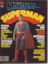 Famous Monsters of Filmland #152 Superman Merchandise Special Issue V Pe... - $10.95