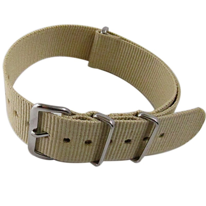 Primary image for Nylon Watch band (18mm) in Sand
