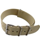Nylon Watch band (18mm) in Sand - $13.00