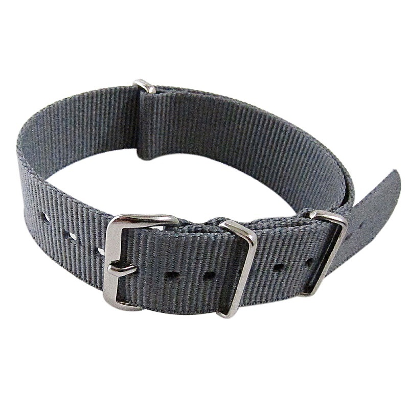 Primary image for Nylon Watch band (18mm) in Charcoal