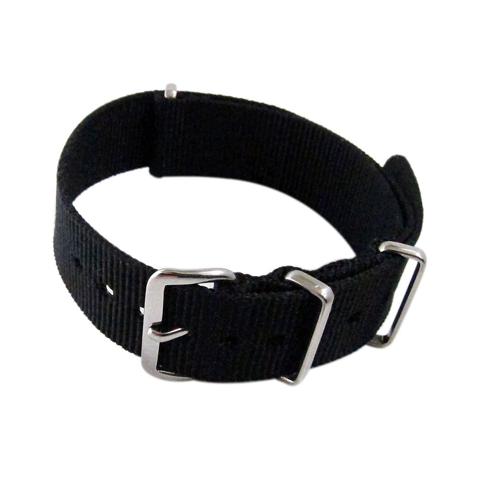 Primary image for Nylon Watch band (18mm) in Black