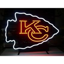 """NFL Kansas City KC Chiefs Beer Bar Neon Light Sign 15"""" x 12"""" - $599.00"""