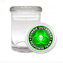 Odorless Air Tight Medical Glass Jar Zombie Design-003 - $7.80