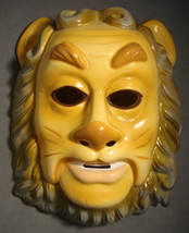 The Wizard Of Oz Cowardly Lion Halloween Mask Pvc / Plastic - $4.66