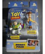 TOY STORY BUDDY PACK FIGURES BUZZ LIGHTYEAR & WOODY NEW - $6.81