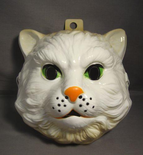CAT ANIMAL HALLOWEEN MASK PVC