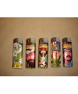 CHEECH AND CHONG COLOR CHANGING NULITE LIGHTERS SET OF 5 - $7.79