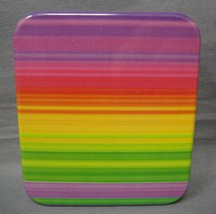 COLOR STRIPES DESIGN FASHION PILL BOX / PILL CASE WITH DEFECTS - $79,35 MXN