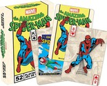 MARVEL COMICS THE AMAZING SPIDERMAN OFFICIAL POKER SIZE PLAYING CARDS DECK