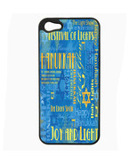 iPhone 5 Hard Case Back Cover Hanukkah Design-005 - $7.02