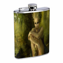 Flask 8oz Stainless Steel Fairies Design-004 Custom Fey Nymphs Pixie Puc... - $7.83