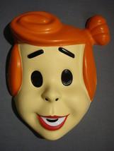 The Flintstones Wilma Flintstone Halloween Mask Pvc New - $4.66
