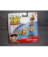 TOY STORY BUDDY PACK FIGURES SLINKY DOG AND WALING WOODY NEW - $6.23
