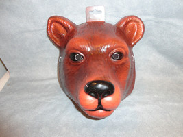 Brown Bear Animal Halloween Mask Pvc - $7.79