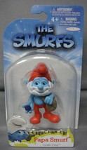 The Smurfs Grab 'Ems Papa Smurf Toy Figure Cake Topper By Jakks Pacific Ages 4+ - $3.88