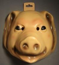 Pig Farm Animal Halloween Mask Pvc - $12.95