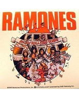 "RAMONES ROCK N ROLL HIGH SCHOOL 4"" x 4"" STICKER NEW GABBA GABBA HEY! - $3.10"