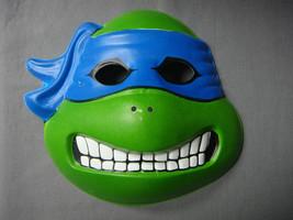 Tmnt Teenage Mutant Ninja Turtles Leonardo Theme Child Size Halloween Mask Pvc - $6.81
