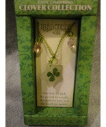CLOVER COLLECTION FOUR LEAF CLOVER BRACELET WITH PINK ACCENT - $2.31