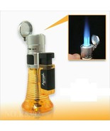 AOMAI SMOKING REFILLABLE TRIPLE BLUE FLAME WELDING TORCH LIGHTER ZB-277 ... - $7.79