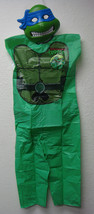 TMNT TEENAGE MUTANT NINJA TURTLES LEONARDO COSTUME SET CHILD SIZE MEDIUM... - $9.75