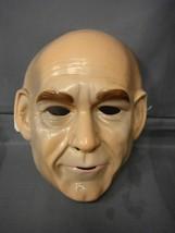 Star Trek Captain Picard Mask Pvc - $4.66