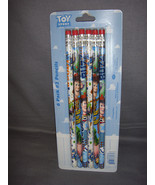 TOY STORY PENCIL SET OF 6 WOODY AND BUZZ AND MORE #2 PENCILS - $2.31