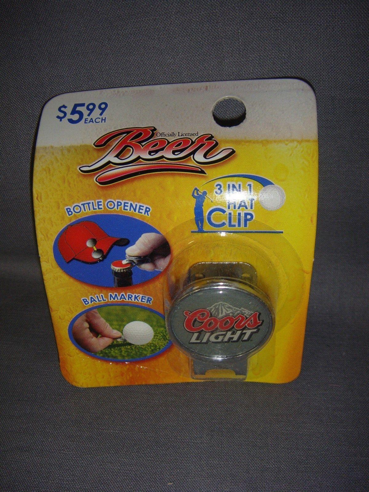 Large Coors Light Beer USA Beer Bottle Opener bar Tool Opener Opener White
