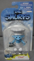THE SMURFS GRAB 'EMS CHEF TOY FIGURE CAKE TOPPER BY JAKKS PACIFIC AGES 4+ - $3.88