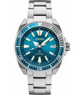 New Seiko Automatic Prospex Samurai Blue Wave Divers 200M Men's Watch SR... - $315.80