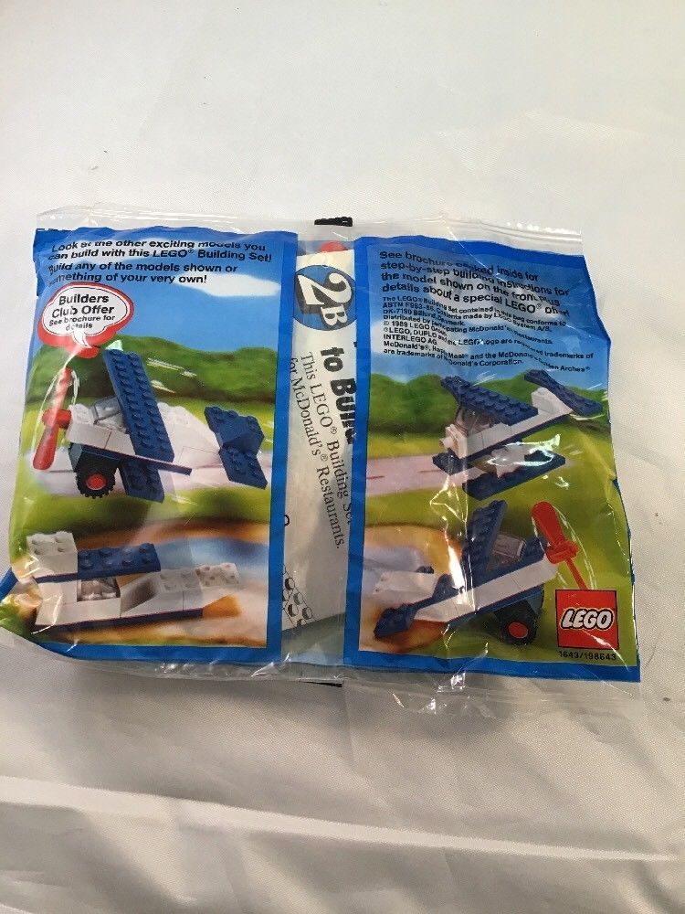 1989 LEGO Motion McDonalds Happy Meal Toy and 50 similar items