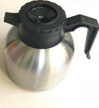 Intertek 4007412 Seamless Thermal Carafe, 1.9 L, Black Bunn Compatible - $59.95