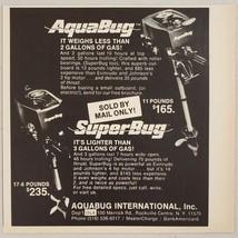 1976 Print Ad AquaBug & SuperBug Outboard Motors Rockville Centre,New York - $9.78