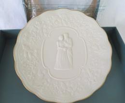 Lenox Plate, Wedding Promises, In Box, Porcelain - $22.00