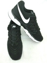 Nike Mens Lunar Fingertrap TR Running Training Shoes Black White Size 12... - $49.49