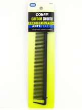 CONAIR CARBON SMOOTH ANTI-STATIC CUTTING COMB -  1 PK. (93424) - $5.99