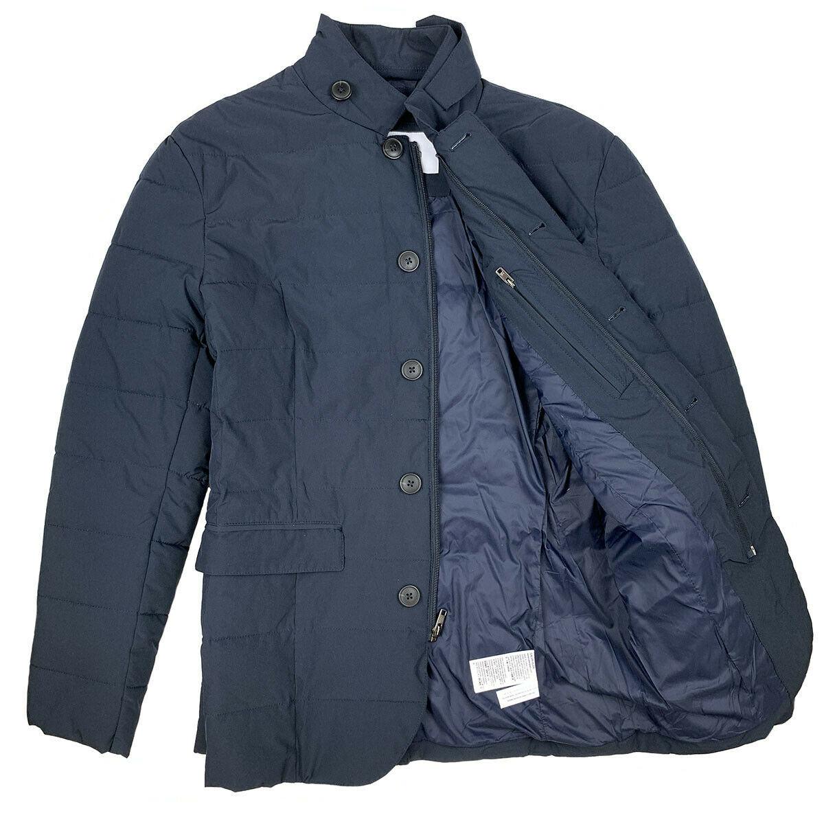 Calvin Klein Men's Dark Navy Puffer Long Jacket 24908120