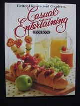 Better Homes and Gardens Casual Entertaining Cook Book Not Available - $7.87