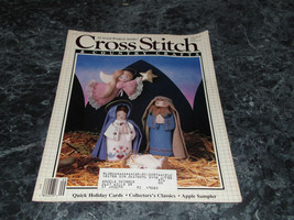 Cross Stitch & County Crafts Magazine September October 1987 Tulips - $2.99