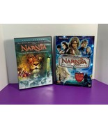 Lot of 2 Chronicles of Narnia DVD Movies Lion Witch Wardrobe and Prince ... - $12.86