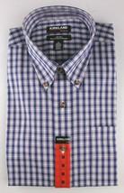 New Men's Kirkland Non Iron Casual Button Down W/ Collar Short Sleeve Shirt SZ M