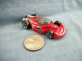 Hot Wheels Mattel 2003 McDonald's Red Race Car - $1.19