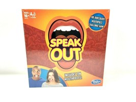 Hasbro Speak Out Game With 10 Mouth Pieces Kids Toys Brand New Factory S... - $16.12