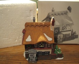 1989 DICKENS VILLAGE SERIES - Betsy Trotwoods Cottage - Department 56 - $32.95