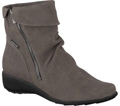 Mephisto Seddy Comfort Ankle Boots (Women's) - Pewter Greta Leather - NE... - £283.46 GBP