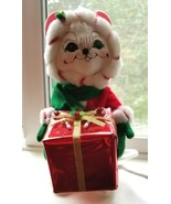 """ANNALEE 9"""" Mrs. Peppermint Twist Mouse w Present Gift Christmas Holiday ... - $24.95"""