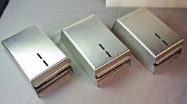 3 Bobrick Surface-Mounted Toilet Paper SQUARES Tissue 50DAP - $27.23