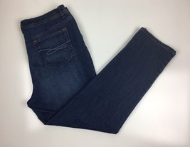 Style & Co  Women Denim Slim Leg  Jeans  Sz 14 Petite Blue Wash - $14.99